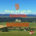 5 Things We Can Do Together This Summer