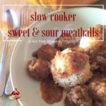 slow cooker sweet and sour meatballs