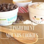 3 ingredient mounds cookies