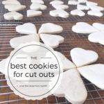 best cookies for cut outs