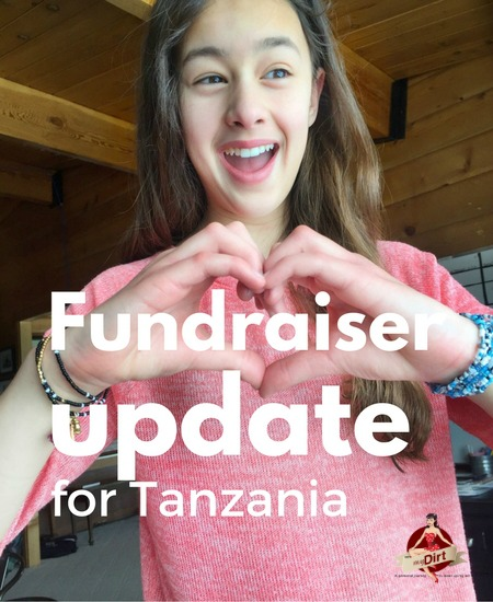 fundraiser update for tanzania