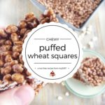 chewy puffed wheat squares