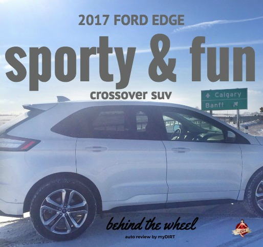 2017 Ford Edge Sporty and fun crossover SUV