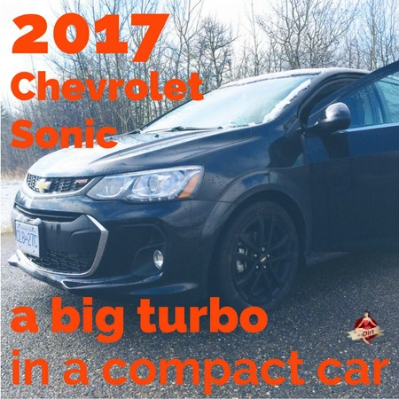 2017 chevrolet sonic review