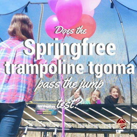 does the springfree trampoline tgoma pass the jump test?