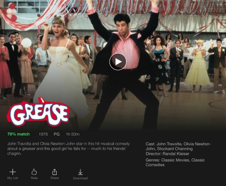 b grease movie download