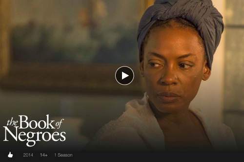 The book of negroes on netlfix