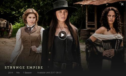 Strange Empire TV Show