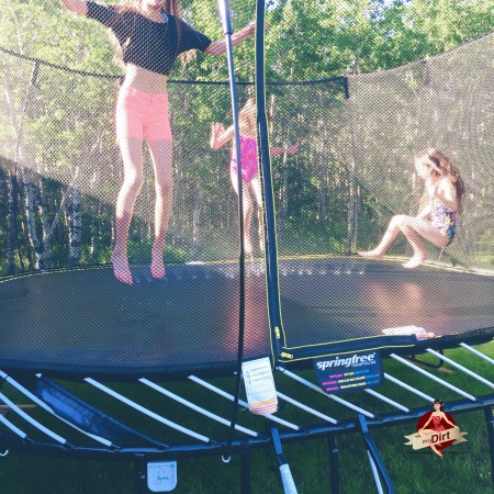 10 things to do with a springfree trampoline