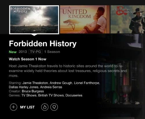 Forbidden history on netflix