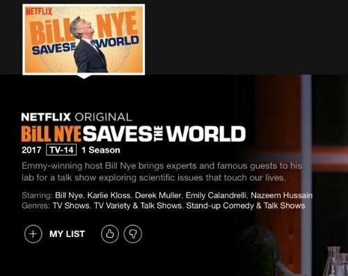 bill nye saves the world on netflix