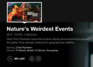 natures weirdest events on netflix