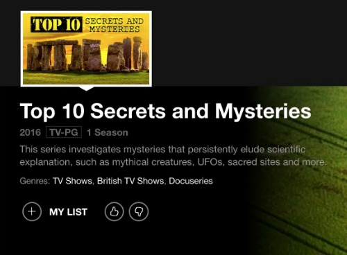 top 10 secrets and mysteries on netflix