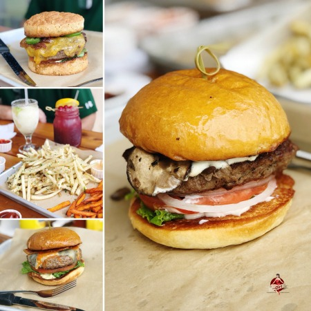 hamburgers and french fries from HopDoddy Burger Bar