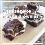cheesecake marble brownies