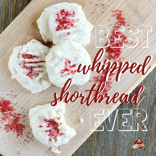 whipped shortbread recipe